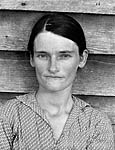 Walker Evans: Allie Mae Burroughs, Hale County, Alabama 1936